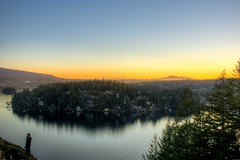 (roberts.alex37) Tags: sunset sky skyline ocean deepcove northvancouver vancouver hike forest colours viewpoint