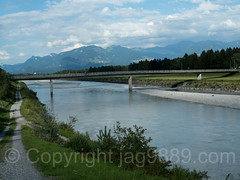 RHE223 Road Bridge over the Alpenrhein River, Büchel SG Switzerland - Bangs Austria (jag9889) Tags: 2017 20170805 at aut alpenrhein alpinerhine altstätten austria bangs border bridge bridges bruecke brücke büchel ch cantonstgallen crossing europe feldkirch fluss helvetia infrastructure kantonstgallen oesterreich outdoor pont ponte puente punt rein reno republic rhein rheintal rhin rhine rhinevalley rijn river roadbridge sg sanktgallen schweiz span strassenbrücke strom structure suisse suiza suizra svizzera swiss switzerland vorarlberg wasser water waterway jag9889