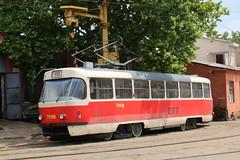2017-06-30, Odesa, Depo 3 (Fototak) Tags: tram strassenbahn tatra t3 odesa ukraine 7056