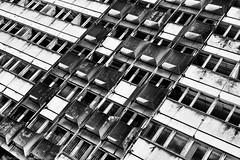 Berlin  Haus der Statistik (JanJungerius) Tags: deutschland germany duitsland berlin berlijn architecture architektur architectuur verval verfall abandoned hausderstatistik zwartwit schwarzweis blackandwhite noiretblanc nikond750 tamronsp2470mm monochrome pattern lines building abstract