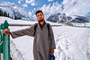 Sledge Operator ... (Bijanfotografy) Tags: nikond800 fx nikon zeiss zeiss15mm zeissdistagon15mm28 sonamarg india kashmir jammukashmir jk snow sledgeoperator mountainside portrait