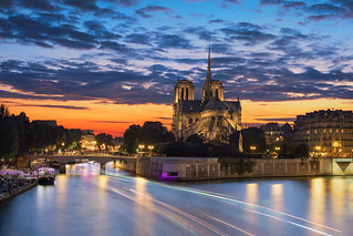 Notre Dame & Sunset