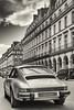 Hey Porsche (sdupimages) Tags: street rue paris auto car porsche 911 nb bw noirblanc blackwhite