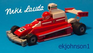1975 Ferrari 312T Niki Laura