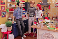 Season6: Eps20 - Sin in the City 4 (photo story) (APPark) Tags: dolls dioramas 16scale miniatures rement cake cupcakes cookies sweets kitchen baking sininthecity photostory fashionroyalty nuface nufantasy homme kumi lukas