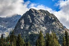 Pizzo del Becco (Davide Tasca) Tags: montagna mountain mountains pizzodelbecco becco orobie carona italy sky clouds threes bergamo