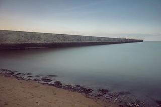 Le mur sur l'océan