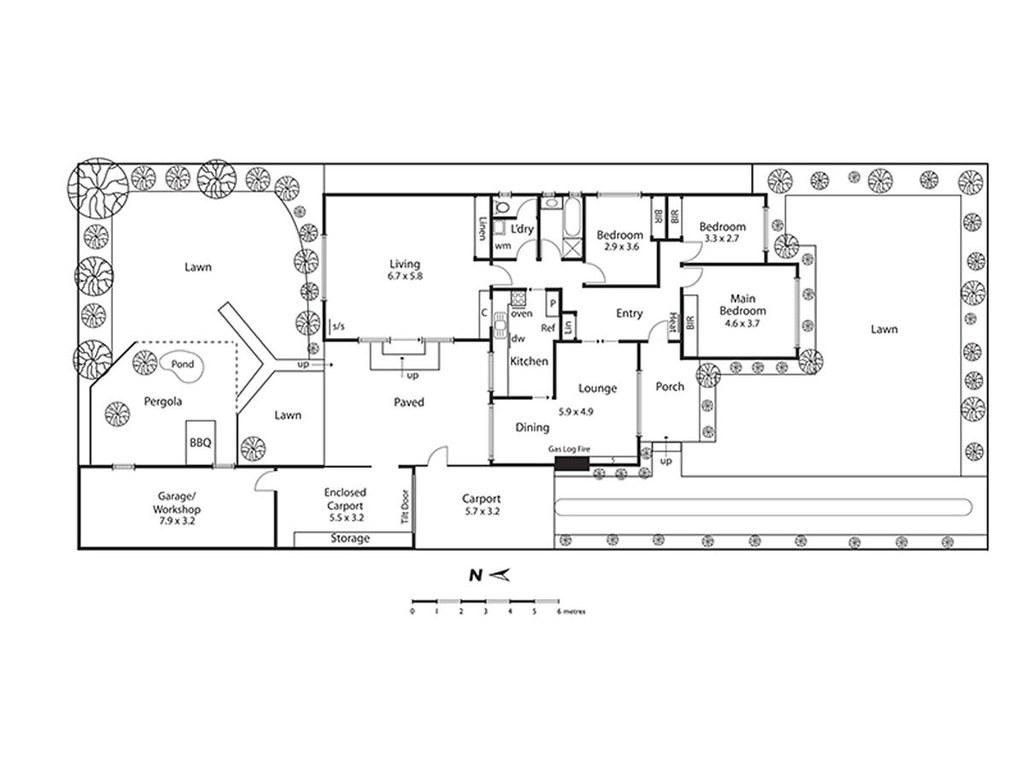 17 Keamy Avenue floorplan