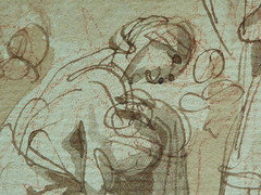 SUVÉE Joseph Benoît - La Présentation de Jésus au Temple (drawing, dessin, disegno-Louvre INV34397) - Detail 25 (L'art au présent) Tags: art painter peintre details détail détails detalles drawings dessins 17thcenturydrawings dessinsfrançais frenchdrawings peintresfrançais frenchpainters museum paris france bible adoration worship saint bless sacred holy blessed figure personnes people femme femmes woman man men virgin vierge enfant child enfance kid baby bébé childhood parents family famille croquis étude study sketch sketches dessins18e 18thcenturydrawings