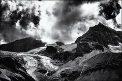 Disappearance II... (Ody on the mount) Tags: anlässe berge em5ii gletscher himmel mzuiko2518 omd ochsentalgletscher olympus urlaub wanderung wiesbadenerhütte wolken bw clouds glaciers monochrome mountains sw sky gaschurn vorarlberg österreich at