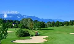 Golf de Lavaux (Diegojack) Tags: puidoux lavaux brêt golf verdure paysage