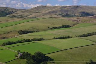 Oaken Clough & South Head Farm, Peak District National Park, Derbyshire, England.