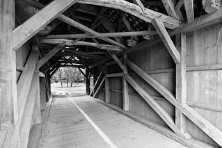 Swiss Timber Bridge from 1712
