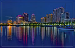 City of West Palm Beach, Palm Beach County, Florida, USA (Jorge Marco Molina) Tags: westpalmbeach palmbeachcounty city cityscape urban downtown skyline southflorida density centralbusinessdistrict skyscraper building architecture commercialproperty cosmopolitan metro metropolitan metropolis sunshinestate realestate highrise royalparkbridge townofpalmbeach palmbeach clearlake