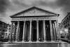 Il Pantheon di Agrippa (B.B.H.70) Tags: panteón pantheon di agrippa roma italia italy bw blackandwhite