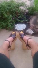 20170803_071551 (2moshoes) Tags: clog clogs backstrap nailpolish male man malefeet sandals platform polish wood swedish strappy