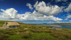 Hebridean Living (Adam West Photography) Tags: adamwest beauty clouds cottage croft farming hebrides hills island isles loch lochboisdale scotland sky stone thatched uist western wild wildflowers