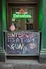 It's A Trap! New York City (130492) (John Bald) Tags: heineken manhattan nyc newyork newyorkcity ricohgrii bar chalkboard doorway fun funnysign growup pub sidewalk sign trap welcoming