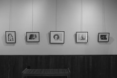 JKPP portraits, August show (bellydanser) Tags: gallery artshow fineart exhibit portraits pencil graphite drawing
