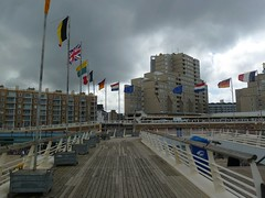 Scheveningen Pier (Elad283) Tags: holland haag hague thehague denhaag netherlands nederland depier scheveningenstrand scheveningen strand beach thenorthsea promenade northsea pier clouds cloudy