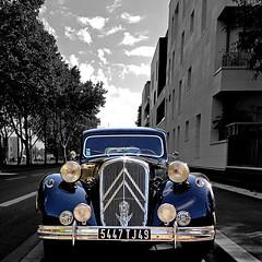 Citroën Traction Avant 15-6 (pom.angers) Tags: maineetloire 49 angers paysdelaloire france europeanunion samsunggalaxys7 samsungsmg930f 100 150 traction tractionavant citroëntractionavant citroën 2017 july vintage laroseraie car vintagecar 300 400