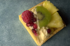 Exotic Square Fruit Tart (Tony Worrall) Tags: exotic square fruit tart fruity add tag ©2017tonyworrall images photos photograff things uk england food foodie grub eat eaten taste tasty cook cooked iatethis foodporn foodpictures picturesoffood dish dishes menu plate plated made ingrediants nice flavour foodophile x yummy make tasted meal nutritional freshtaste foodstuff cuisine nourishment nutriments provisions ration refreshment store sustenance fare foodstuffs meals snacks bites chow cookery diet eatable fodder