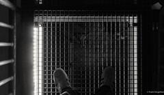 Bergbaumuseum (frankdorgathen) Tags: shoe adidas dark light electricity museum bergbaumuseum city town urban bochum nordrheinwestfalen ruhrgebiet grid pattern