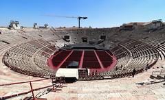 Human Paella Pan (mikkelfrimerrasmussen) Tags: arenadiverona arena verona stage opera