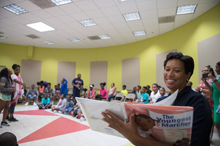 Washington Tennis Center Read Aloud