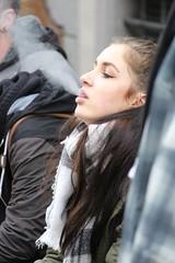 Let it Go (if you insist) Tags: smoking smoker exhale eurosmoke tobacco nicotine addict candid cigarette female breath