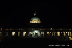 """Notturno a Oropa (Ferruccio Zanone) Tags: biella oropa """"madonna nera"""" sacello eusebio vescovo vercelli cupola cupolone notturno notte chiesa nuova basilica"""
