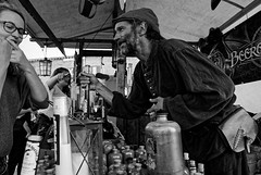 Medieval Festival (Seedeich) Tags: horsens 10mmf28n1 j1 bw street