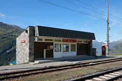 Nätschen - Old MGB Station (Kecko) Tags: 2017 kecko switzerland swiss schweiz suisse svizzera innerschweiz zentralschweiz uri nätschen oberalp pass oberalppass matterhorngotthardbahn railway railroad mgb eisenbahn bahn bahnhof station swissphoto geotagged geo:lat=46642540 geo:lon=8613100