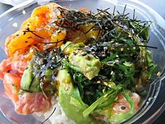 Poke Bowl1 (annesstuff) Tags: annesstuff food sushi hawaiian poke rice seafood tuna salmon seaweed masago sesame