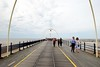 Walking down Southport Pier (zawtowers) Tags: southport merseyside north west england cloudy dry sunday 22nd august 2017 day out visit seaside resort destination beach sea pier second longest pleasure grade ii listed victorian opened 1860 former tram tracks no longer used