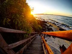 Sun, steps, sand and the ocean (Klauss Egon) Tags: