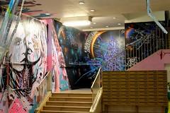 Cara Delevingne et Kate Moss à Rehab 2 (Chris-17) Tags: streetart graffiti rehab2