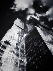 Moscow City different way how to touch a sky (NO PHOTOGRAPHER) Tags: hochhaus gebäude cityscape skyline detail construction blackandwhite monochrome architecture architectural urban building outdoor iphoneography iphonephotography exterier russia moscowcity technoart sky clouds moscowphotography blue skycraper iphone 6s москва россия архитектура строительство река мост photography mobile mobilephotography sunlight sunset light bw contrast diagonal white black abstract composition