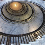 Washington DC ~ Supreme Court of The United States ~ One of  two identical self-supporting elliptical spiral staircases. thumbnail