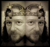 Friday Night Trial of Saturday's Prophet, Priest and King (Golder comparison) (PHH Sykes) Tags: gold crown uraeus serpent gnostic mass aleister crowley electrum magic magick
