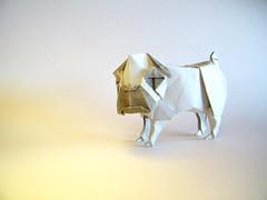 Pug - Yoo Tae Yong (Rui.Roda) Tags: origami papiroflexia papierfalten dog chien cachorro cão perro pug yoo tae yong