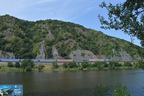ČD Class 372 - Malé Žernoseky