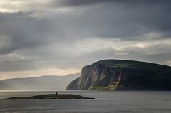 Arctic View (Squareburn) Tags: norway island light cliff cloud seascape hammerfest coast arctic
