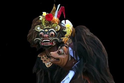 Indonesia - Bali - Padangbai - Barong Dance - 17d