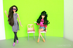 Green Screen With Envy (fashionisto2k) Tags: f2k barbie fashionistas raquelle