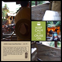 """Looking forward to seeing """"the backside of water"""" on this pun filled voyage. #theockeysgotodisneyland #projectmouse #projectlifeapp #memorykeeping #disneyland (girl231t) Tags: ifttt instagram 2017 vacation scrapbook layout 12x12layout projectlifeapp affintiyphotoapp"""