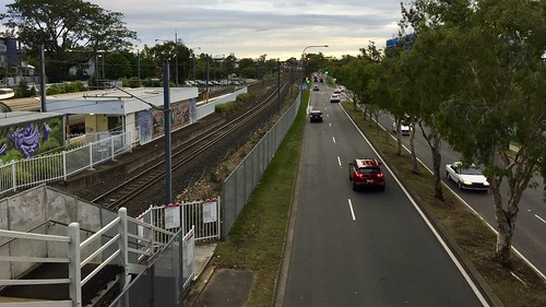 Yeronga Station & Fairfield Road, Yeronga, Queensland
