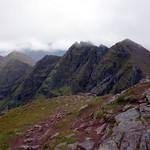 Corrag Bhuidhe and Sgurr Fiona from Bidean a' Ghlas Thuil thumbnail