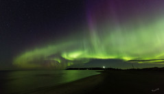 Ohtakari on my mind (MatsOnni) Tags: northernlights auroraborealis revontulet ohtakari sea meri heijastus