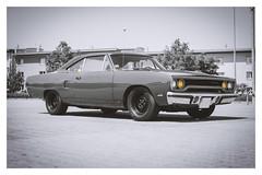 Plymouth Road Runner (FOXTROT|ROMEO) Tags: blackwhite road runner roadrunner plymouth mopar dodge chrysler car auto musclecar usa